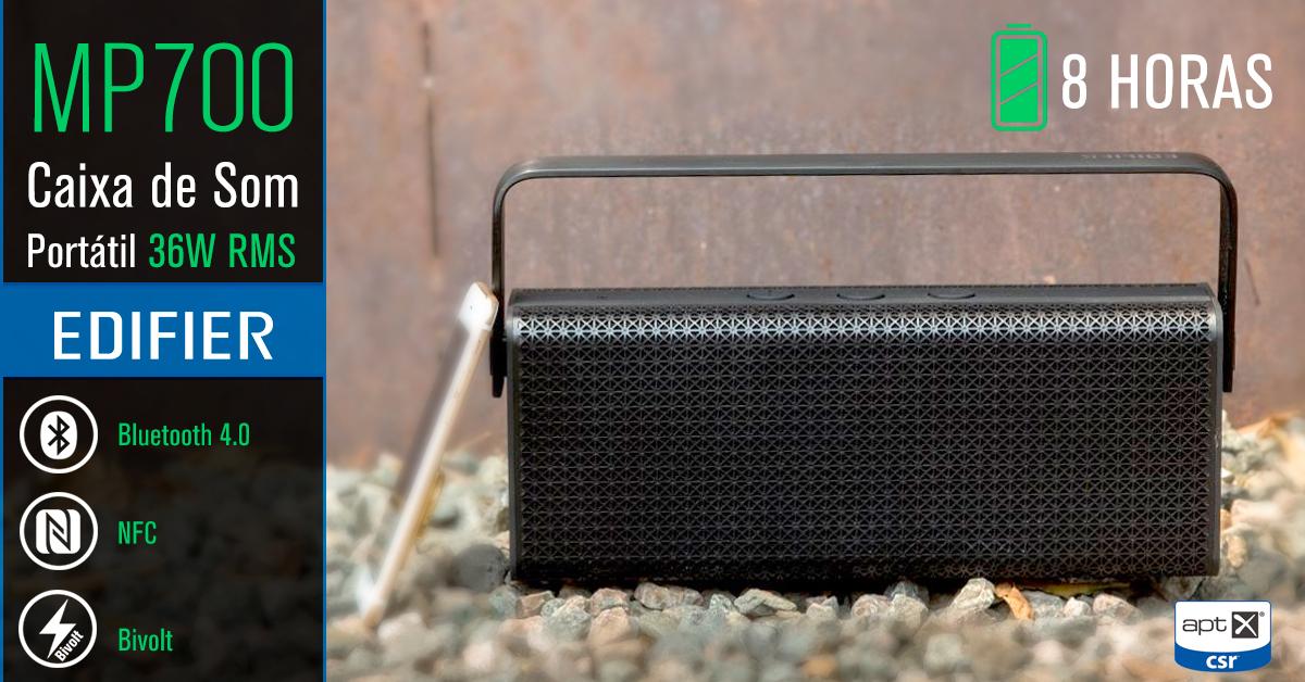caixa de som portátil potente