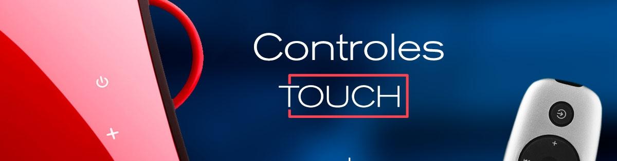 caixa de som touch