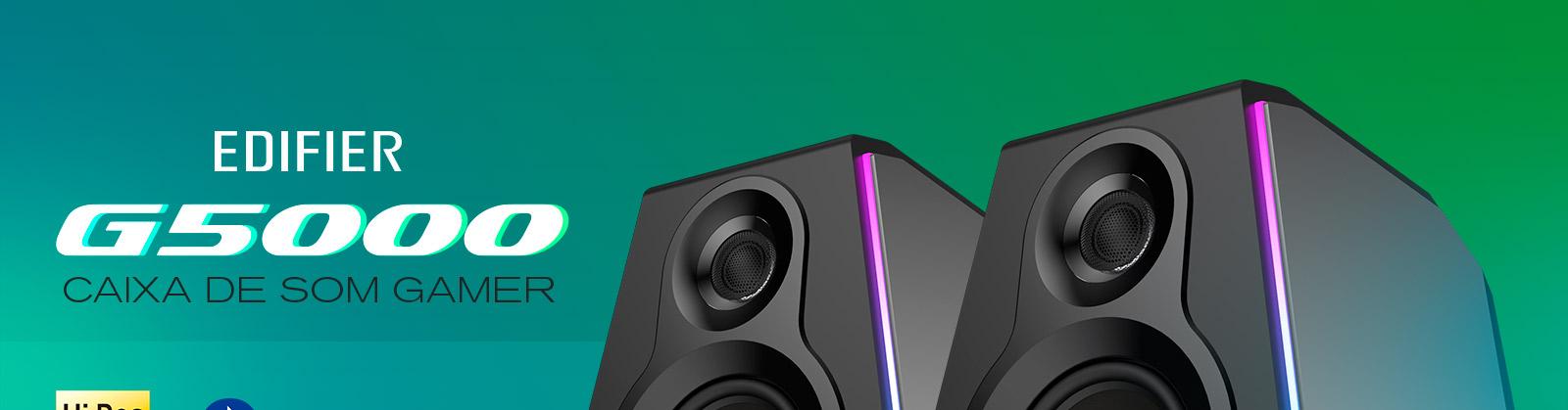 caixa de som para PC com alta resolução de áudio