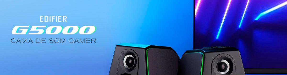 caixa de som gamer para PC alta resolução