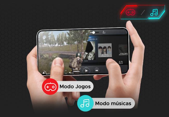 fone tws para musica e jogos