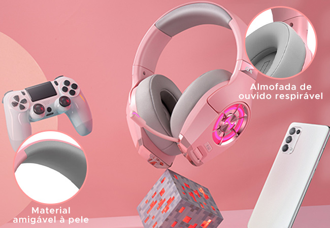 headset almofadado