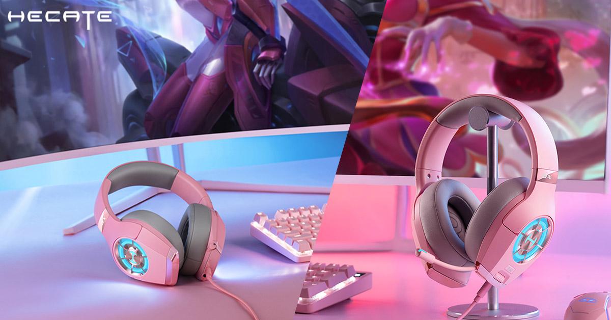 headset gamer feminino hi-hes