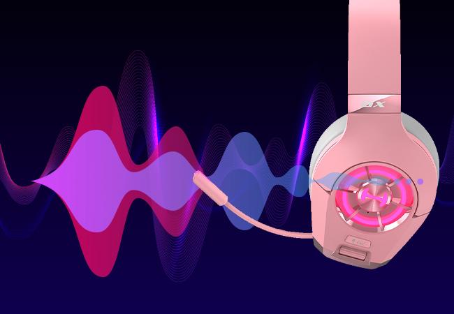 headset com microfone que filtra o ruido