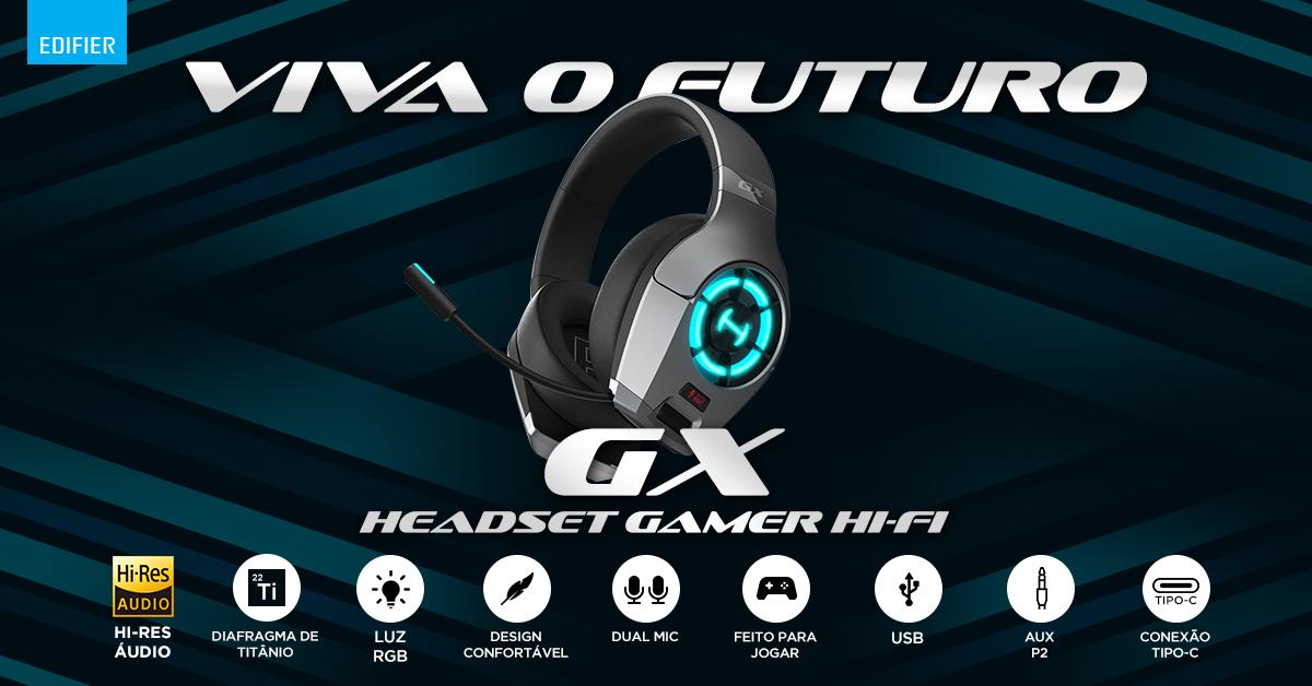 Headset Gamer EDIFIER GX