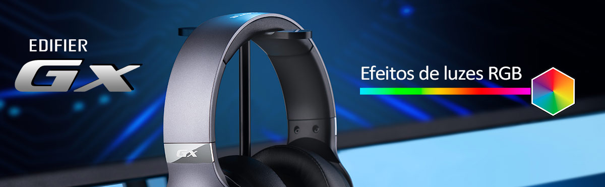 Headset Gamer com RGB