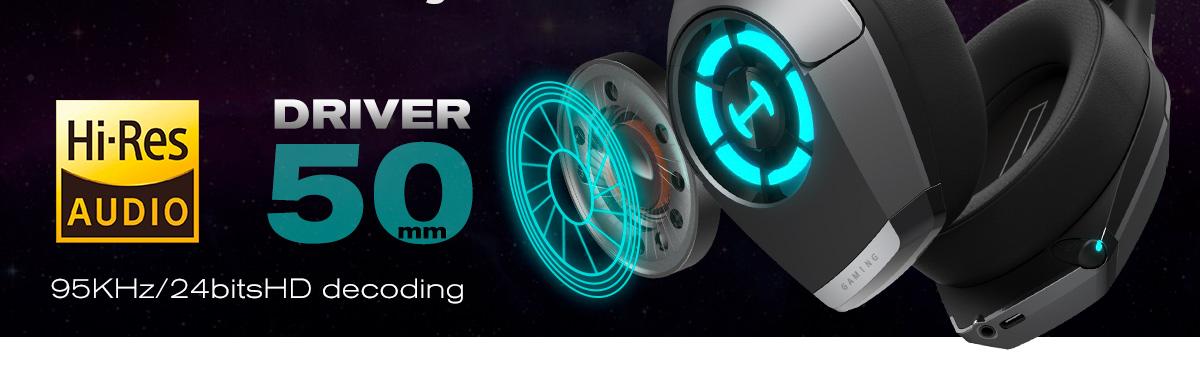 headset gamer de alta resolução