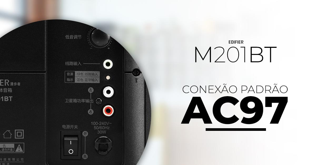 Caixa de som Bluetooth M201BT EDIFIER