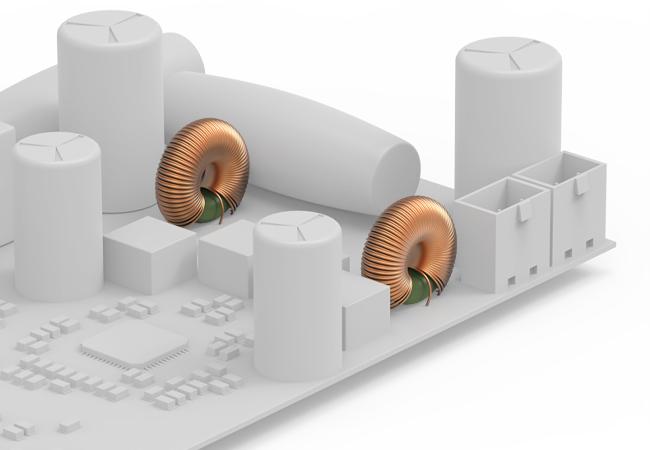 caixa com divisor de frequencia