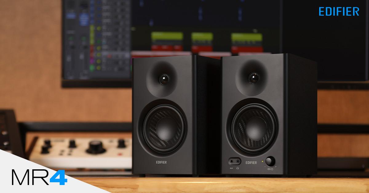 monitor de audio profissional MR4