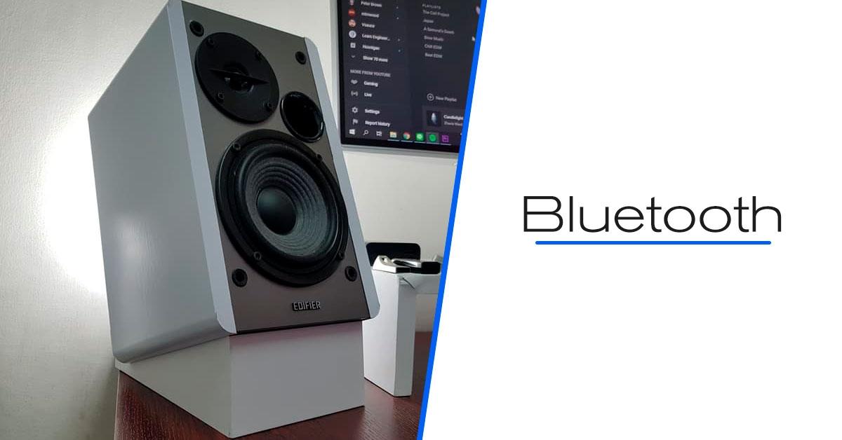 caixa de som Bluetooth EDIFIER R1280DB