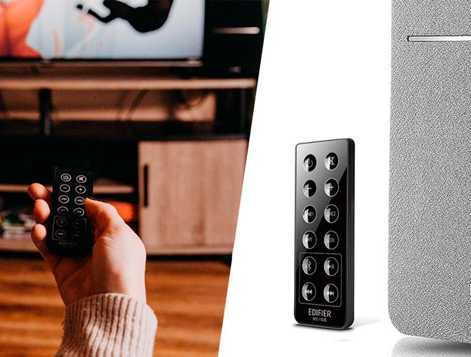 Caixa de som com controle remoto R1280DB