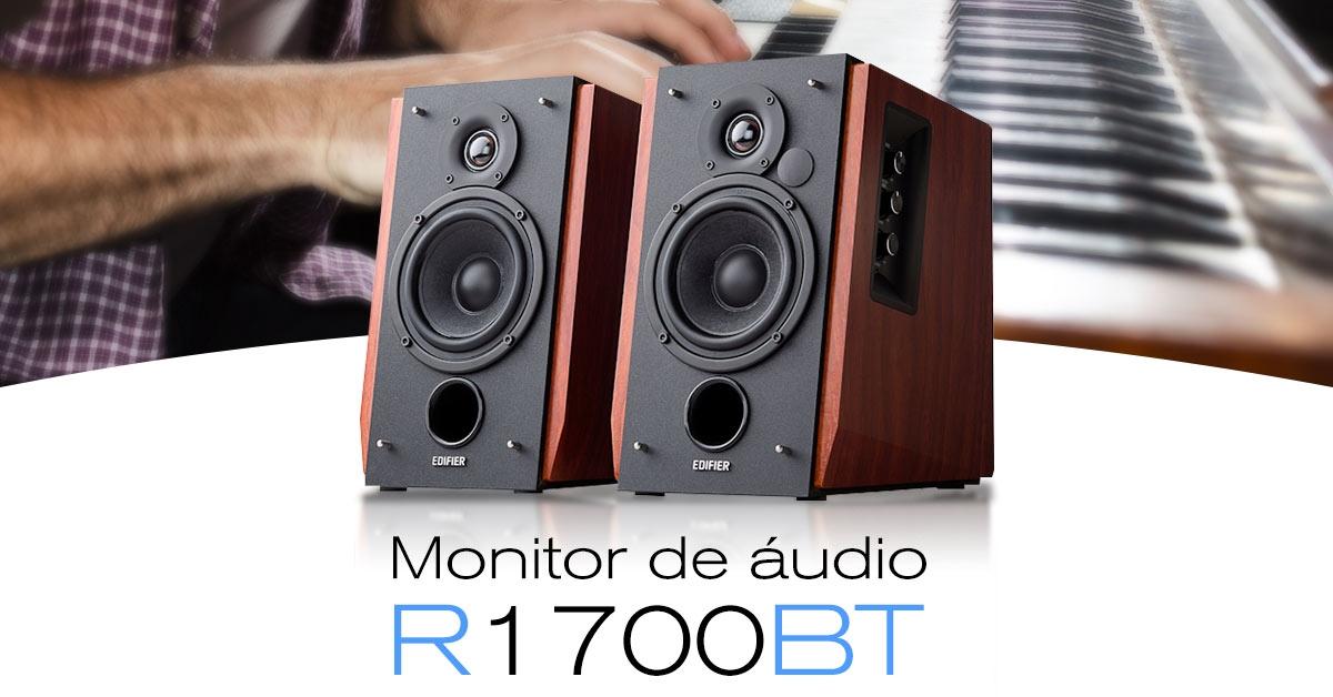 Monitor de áudio para studio