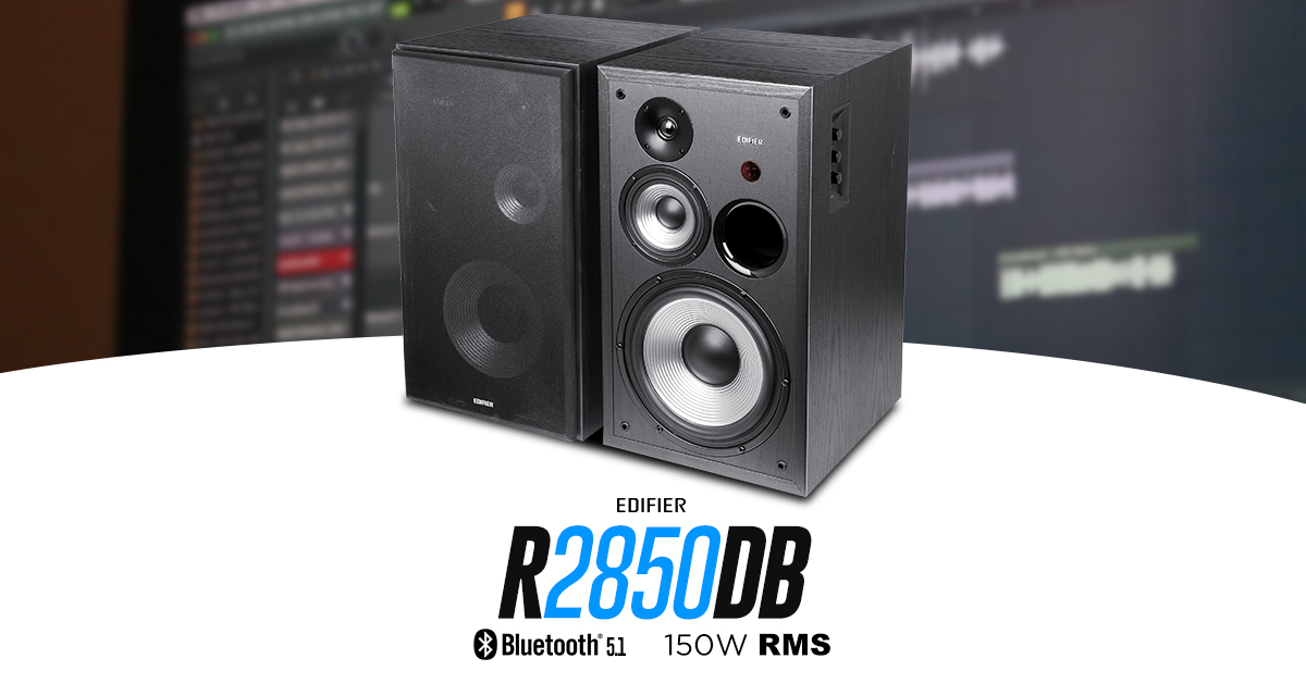 Monitor de áudio bluetooth EDIFIER R2850DB
