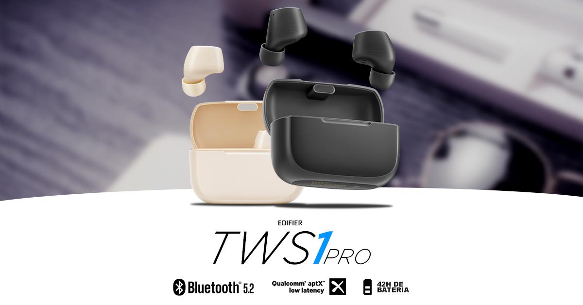 Fone bluetooth in ear TWS1 pro EDIFIER