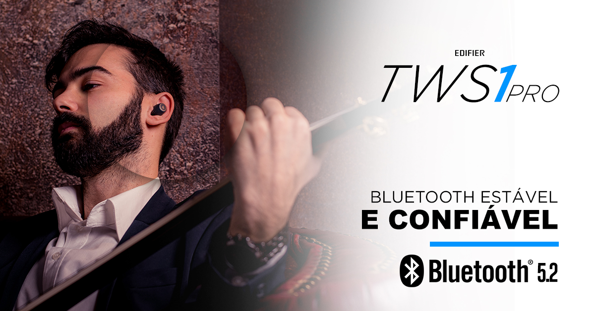 Fone bluetooth TWS1 pro EDIFIER